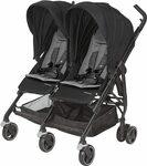 Maxi Cosi Dana for 2 Twin Stroller - Nomad Black $249.99 Delivered @ Amazon AU