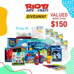 Win 1 of 2 RIOT Stores Prize Packs from Free Kids Events