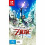 [Preorder, Switch] The Legend of Zelda Skyward Sword HD | Mario Golf Super Rush $29ea With 2 Eligible Games Trade-in @ EB Games
