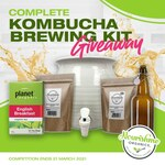 Win Kombucha Making Kit from Nourishme Organics