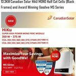 [QLD] 13.3kW latest Canadian Solar System 370W Hiku MONO Fully Installed for $5989 + Free Discount Vouchers @ Reliance Solar