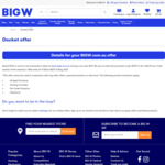 Spend $100, Save $10 (Online Only, Exclusions Apply) @ BIG W