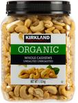 Kirkland Signature Organic Cashews 2x 1.13kg $29.97 Delivered @ Costco (Membership Required)