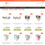 Royal Albert 100 Years Fine Bone China Mug from $39.95 + Delivery (Free Metro Shipping with $99 Spend) @ Mega Boutique