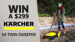 Win a Kärcher S4 Twin Sweeper Worth $299 from Seven Network