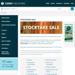 CSIRO Publishing 2021 Stocktake Sale – 90 Books at up to 70% off + $9 Delivery