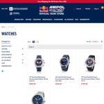 [Pre Order] Personally Signed SVG & J-DUB TW STEEL Watch & Box from $249 (& $20 off First Order) @ Red Bull Ampol Racing Shop