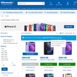 iPhone 12 Mini 64GB $884, 128GB $964 Delivered ($0 C&C/ in-Store) @ Officeworks