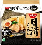 [Prime] Nissin Ramen Kyushu Black/Hokkaido Miso Garlic Instant Noodle 5 Pack $5.40 Delivered @ Amazon