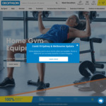 20% off Everything + Delivery ($0 C&C/ $120 Order) @ Decathlon