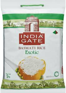 India Gate Exotic Basmati Rice 5kg $12 (Was $20) @ Woolworths