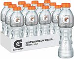 Gatorade Sports Drink 12 x 600ml $21.84 ($19.66 S&S) + Delivery ($0 with Prime/ $39 Spend) @ Amazon AU