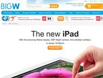 "The ""NEW IPAD"" at BigW from $498 This Friday!"