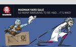 Madman Yard Sale (Collingwood, Vic)