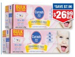 Curash Baby Wipes Fragrance Free 10 x 80 Pack $26.99ea (Save $7.96 off RRP) @ Chemist Warehouse
