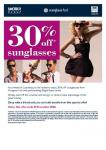 Family & Friends 30% off voucher - Sunglass Hut Australia.