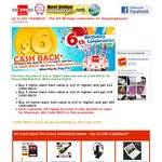 Up to $60 CASHBACK @ ShoppingSquare, 10x SanDisk 16GB USB $72.9 Delivered after Cashback