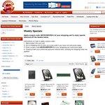 HP N40L MicroServer (250GB) - $199, 3TB + HP N40L - $299 + Shipping, Hard Drives Price Smash