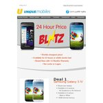 Unique Mobiles~ Samsung Galaxy S4 i9500 $679 24 Hours Only