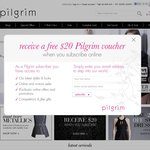Pilgrim 25% off When You Purchase 2 or More Items (Includes Sale) + Free Shipping over $50