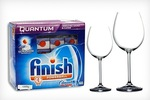 $25 for 60 Finish Quantum Powerball Dishwashing Tablets, Includes Nationwide Delivery