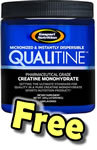 FREE Gaspari Creatine 20 Serves with Any Purchase over $69.00 + FREE Shaker + FREE Delivery