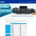 Brother Printer Cash Back Promotion Is on Again