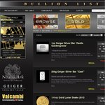 Perth Mint, PAMP, Geiger Gold and Silver Bullion, up to 80% off Retail Premiums