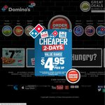Domino's Pizza - Any Pizza $6 before 6PM (Pickup Only) until 4/03/2014