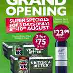 VB 24x375ml 2-for-$75 Penfolds Bin 8 $23.99 Johnnie Walker Red 700ml $29 @ Bottle-O Balwyn [VIC]