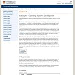 $0 Course: Baking Pi Operating Systems Development by Cambridge University