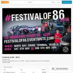 "Free $0 Tickets to ""Festival of 86"" [Rozelle NSW] Sat/Sun Nov 8-9"