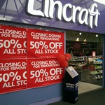 Lincraft 50% off Store-Wide Renovation Sale (Woden, ACT)