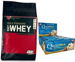 10% off Orders over $150 (ON Gold 4.5kg + 12x Quest Bars + Gift $152.95 Delivered) @ Amino Z