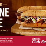 BOGOF Pulled Lamb & Slaw Roll ($7.99) at Red Rooster