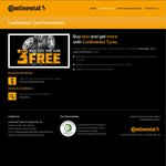 Buy 3 Continental Tyres, Get 1 Free