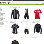 Selected Craft Cycling Clothes 60% off