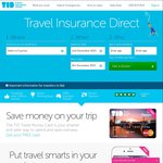 Travel Insurance Direct 5% off