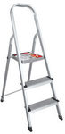 Faulkner 3 Step Aluminium Step Ladder - $24 (Normally $74) @ Masters