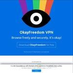 $0: OkayFreedom VPN Premium Unlimited (1 Year License)