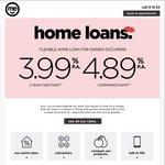 ME Bank - Fixed Rate 3.99%p.a. Flexible Home Loan for Owner Occupiers for 2 Years (CR 4.89%)