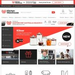 Kitchen Warehouse (Kitchenware Direct) Free Shipping For 5 Days