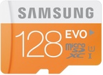 Samsung EVO 128GB MicroSD + Adapter £24.44 (~AU $43) Delivered @ Mymemory