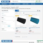 Logitech Mobile Wireless Speaker X300 Black or Blue $49 (Was $99.95) @ The Good Guys (OW Price Beat $46.55)