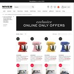 MYER - Take an Extra 10% off Homewares and Small Electrical Appliances - 1 Day Only