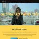 $25 off When You Spend $50 or $100 off When You Spend $500 in One Transaction @ Sony before 31 March 2017 - Survey Required