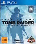 Rise of the Tomb Raider PS4: 20 Year Celebration Edition - Big W $39