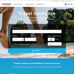 15% off Travel Insurance with Medibank End March 1st 2017