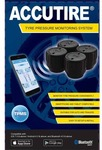Accutire Tyre Pressure Monitoring System - 4 Pack, Bluetooth: $110 @ Supercheap Auto Online