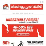 Closing down Sale 40-50% Bicycles and Accessories @ Bicycle Warehouse (Strathpine, QLD)